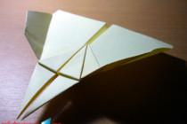 Cara Membuat Pesawat Kertas Double Needle :: Origami Pesawat Kertas