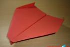 Cara Membuat Pesawat Kertas The Stable V4 – Origami Pesawat Kertas