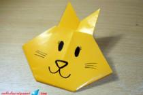 Cara Membuat Origami Kelinci – Origami Binatang