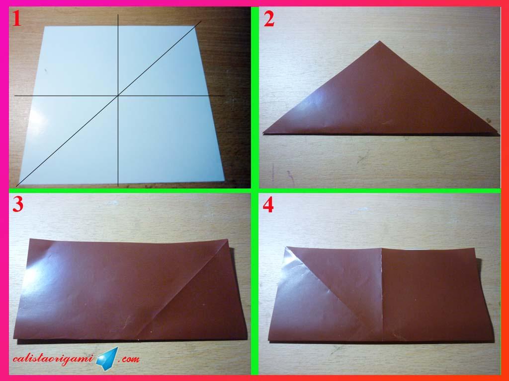 Cara Membuat Perahu Layar Kertas :: Origami Perahu Kertas
